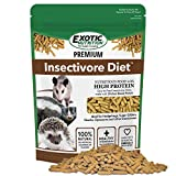 Premium Insectivore Diet (2.5 lb.) - Healthy Nutritious Chicken Based High Protein Pellet Diet - for Sugar Gliders, Hedgehogs, Opossums, Skunks & Other Insectivores