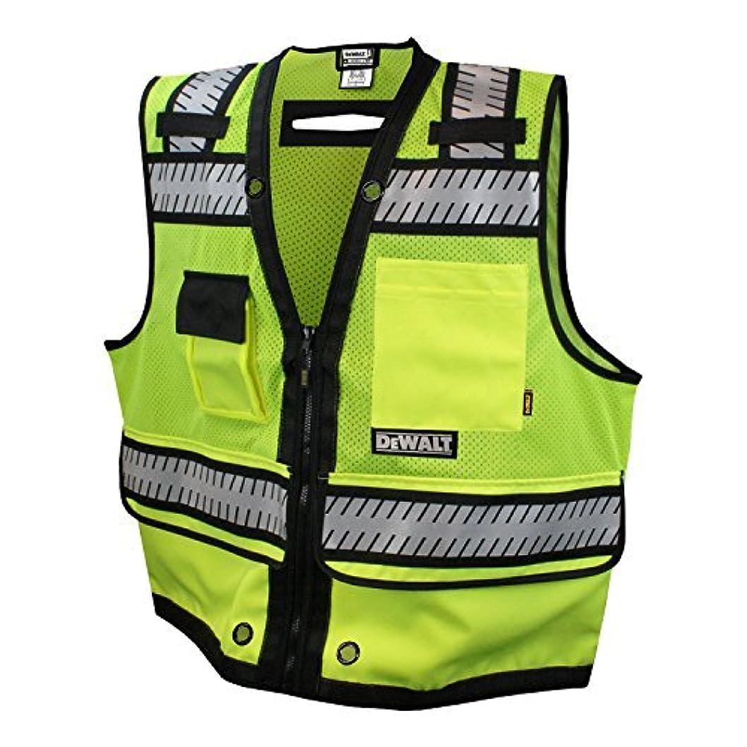 わな一目有名DEWALT DSV521-5X Class 2 Heavy Duty Surveyor Vest, 5X-Large by Radians, Inc. [並行輸入品]