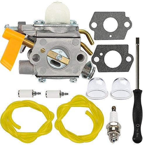 Dalom C1U-H60 Carburetor + Adjustment Tool for Ryobi Homelite 25cc 26cc 30cc S430 SS26 SS30 CS26 CS30 String Trimmer Brushcutter 985624001 308054003 985308001 3074504