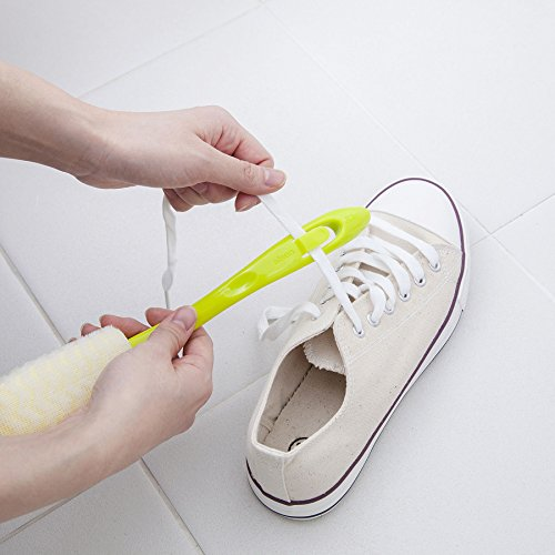 aisen靴ヒモ洗い付シューズブラシLK081