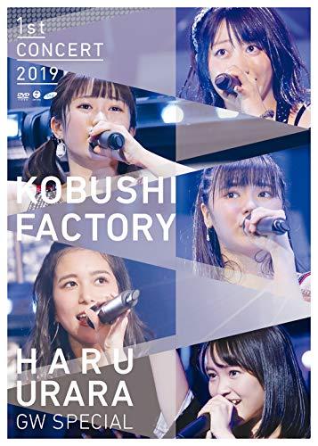 [画像:こぶしファクトリー ファーストコンサート2019 春麗 〜GWスペシャル〜 (通常盤) (DVD) (特典なし)]