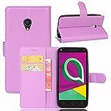 Hüllen Für Alcatel U5 3G Handyhülle 5.0 Zoll Flip PU
