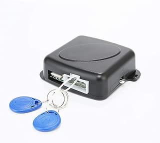Alician Auto Car Alarm Engine Starline Push Button Start Stop RFID Lock Ignition Switch Keyless Entry System Starter Anti-Theft System
