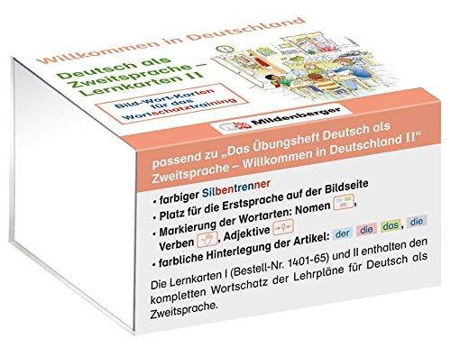 Willkommen in Deutschland – Deutsch als Zweitsprache - Lernkarten II: Bild-Wort-Karten für das Wortschatztraining