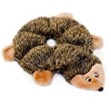 hedgehog no Stuffing Squeaky Plush Dog Toy