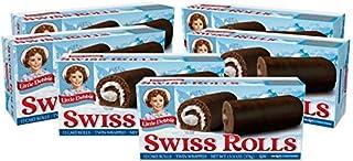Little Debbie Swiss Rolls, 6 Boxes, 36 Twin-Wrapped Cake Rolls
