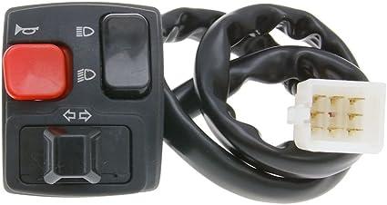 2extreme Schaltereinheit Links Blinker Kompatibel Für Derbi Senda Drd 50 D50b0 2005 Auto