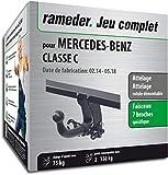Rameder Attelage rotule démontable pour Mercedes-Benz Classe C + Faisceau 7 Broches (133894-11851-1-FR)