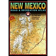 Benchmark New Mexico Road & Recreation Atlas by Benchmark Maps(June 15, 2002) Paperback