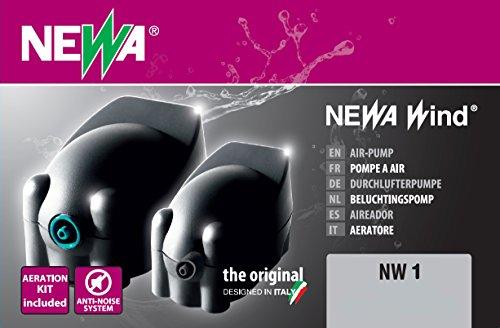 Newa pompe à air Newair NW1 avec accessoires inclus Aquariophilie