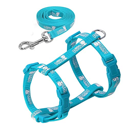 CELLTEK Escape Proof Cat Harness and Leash - Adjustable Cat Walking Harness...