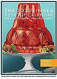 Linnea Design 2022 Desktop Calendar 5 x 7' Artwork by Johanna Riley