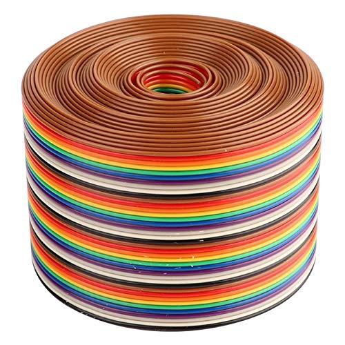 Cable plano de cinta Aramox, cable de paso de 1,27 mm de...