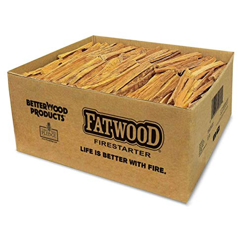 Read About Better Wood Products Fatwood Firestarter Box, 50-Pounds