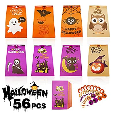 Amazon Promo Code for Treat Bags 56 Pcs Candy Goodie Bag for 11102021081351