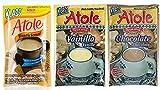 Klass Atole Variety Bundle, 1.52 oz (Pack of 9) Includes 3-Pkt Chocolate + 3-Pkt Vanilla + 3-Pkt Coconut by Klass