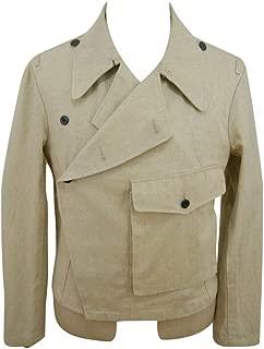 WW2 WWII German Heer Panzer Summer HBT Off-White wrap/Jacket Type II