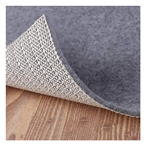 Non Slip Rug Pad Grippers - 5x7, 1/8' Thick, (Felt + Rubber)...