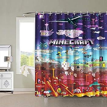 Best minecraft shower curtain Reviews
