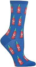 HotSox Womens Hot Sauce Socks, 1 Pair, Womens Shoe 4-10
