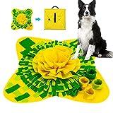Pejoye Alfombra Olfato Olfativa Perros Snuffle Mat Alimentación de Mascotas Manta Juguetes Interactivos para Perros
