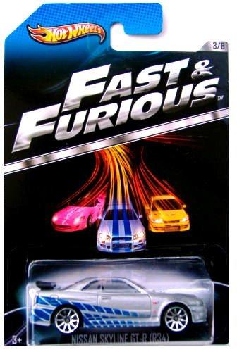 Coches Hot Wheels Fast & Furious - A Todo Gas - Nissan Skyline GT-R - 3 de 8