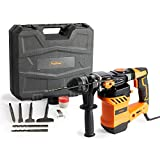 VonHaus Rotary Hammer Drill 1500W - SDS Hammer Impact Drill for Drilling