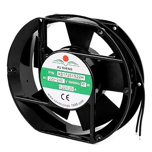 New Lon0167 AC 220 Destacados / 240V 0.22 eficacia confiable / 0.23A 172mm x 150mm x 51mm Bastidor de metal Paleta de plástico Ventilador de enfriamiento axial(id:5c3 d1 d1 f66)