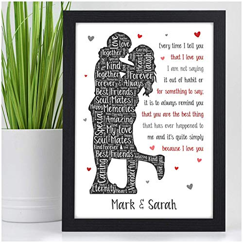 Personalised I Love You Gifts for...