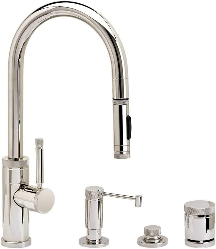 Waterstone Max 54% OFF 9900-4-CH Industrial Prep Max 71% OFF Size w Faucet Pulldown PLP