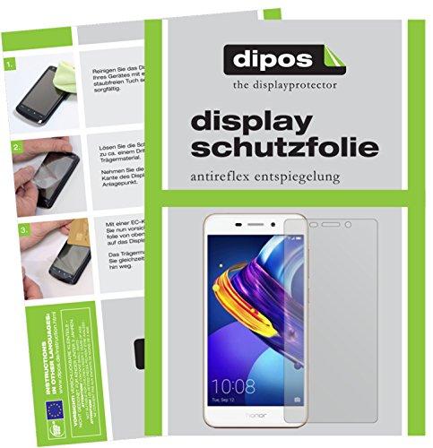 dipos I 2X Schutzfolie matt kompatibel mit Huawei Honor 6C Pro Folie Bildschirmschutzfolie