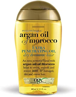 OGX Argan Oil of Morocco Extra Penetrating Oil for Renewing Plus Dry and Coarse Hair, 100ml