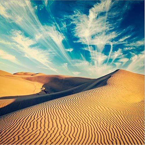 Desert Beauty The Wooden Puzzle 1000 Piezas ersion Jigsaw Puzzle Juguetes educativos para niños Adultos_Rompecabezas Educativo de Regalo para niños_50X75CM