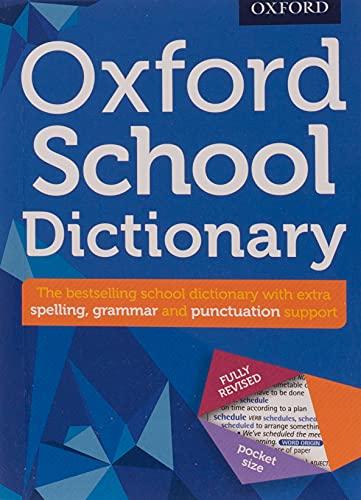 Oxford School. Dictionary 2016 (Oxford Dictionary) - 9780192747105 (Diccionario Oxford School) - Tamaño de bolsillo