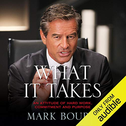 What It Takes                   By:                                                                                                                                 Mark Bouris                               Narrated by:                                                                                                                                 Mark Bouris                      Length: 6 hrs and 13 mins     Not rated yet     Overall 0.0