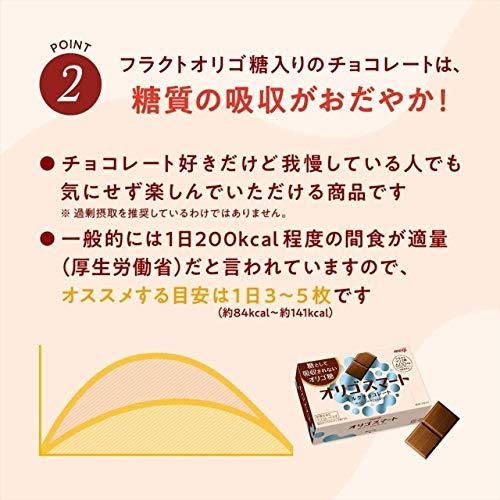 明治オリゴスマートマイルドビターチョコレート65g×5箱