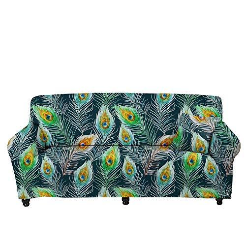 HXTSWGS Fundas Cojines de Sofa,Funda de sofá con Estampado de Estrella de Cinco Puntas 3D, Funda de sofá elástica, cojín de sofá de Sala de Estar-Color3_145-185cm