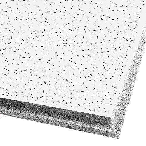 Ceiling Expert 732006089221 Carreaux de plafond Fissure Blanc 600 x 600