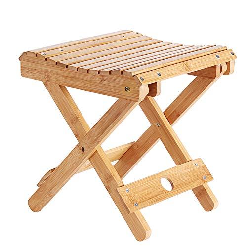 YLCJ Tragbare Liegestühle Klappleicht, Klappstühle Holz Outdoor Tragbarer Campingstuhl, Outdoor Mini Tragbarer Stuhl Camping Strand, Angelstühle Klapp Leichtgewicht