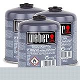 Weber Cartuccia Gas formato piccolo (445 gr) - da 3 pz...