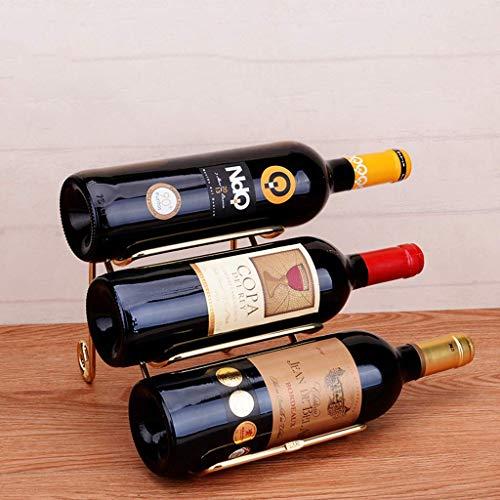 DJY-JY Estante de metal para vino/bodega/almacenamiento, de pie, no requiere montaje