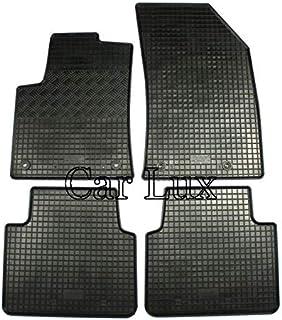 AUTO-Tapis de Sol en Caoutchouc Tapis Noir Pour Citroen c3 à partir de 2017