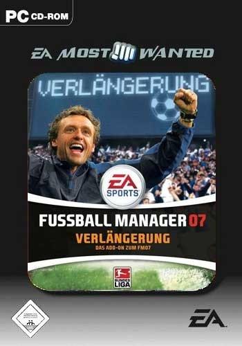 Fussball Manager 07 Verlängerung, DAS ADD-ON ZUM FM07  [EA Most Wanted]