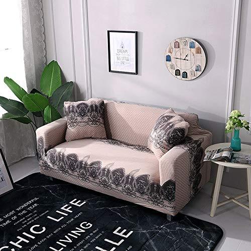 WXQY Fundas de sofá elásticas para Sala de Estar Funda de sofá Todo Incluido Estiramiento Protector de Muebles Fundas Sillones Fundas de sofá A13 1 Plaza