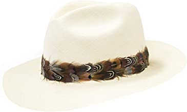 cowboy hat bands feather