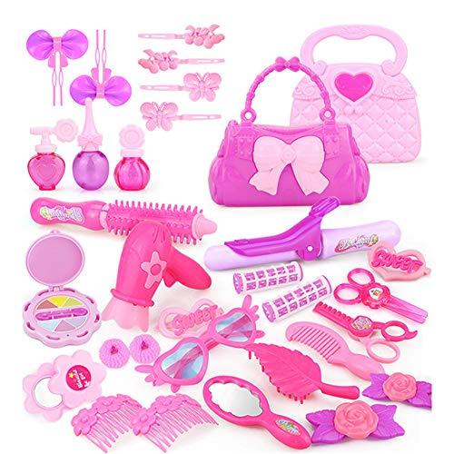 kangOnline 1 Set Salon de beauté Play Set Kit de Maquillage Semblant Enfants Jouet Maison de Jeu avec boîte Portable