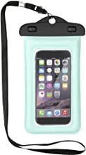 5.5-inch Universal Waterproof PVC Mobile Phone Bag With Transparent Part
