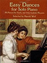 Easy Dances For Piano Solo