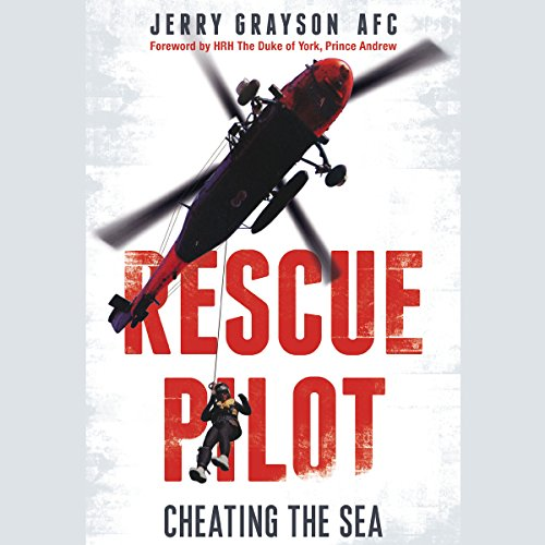 Rescue Pilot audiobook cover art