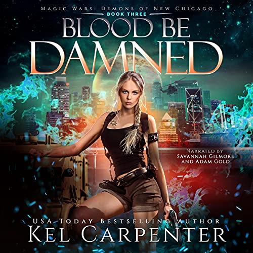 『Blood Be Damned: Magic Wars』のカバーアート
